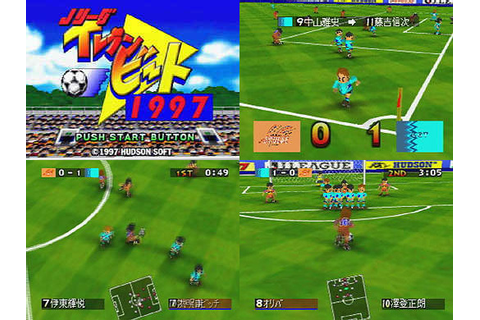 J League Eleven Beat 1997 from Hudson - Nintendo 64