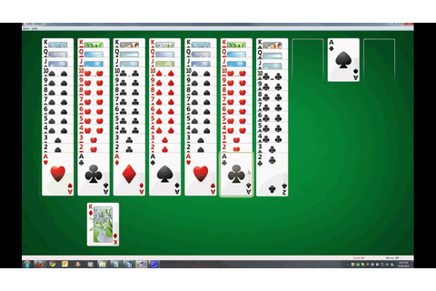 Spider Solitaire On Expert PERFECT GAME - YouTube
