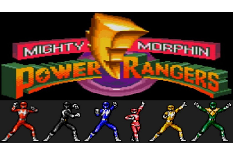 Mighty Morphin Power Rangers (Game Gear) - YouTube