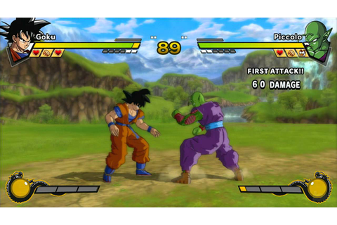 Dragon Ball Z: Burst Limit Xbox 360 Gameplay - The Fight ...