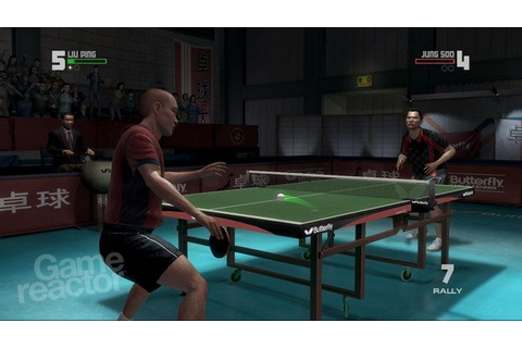 Rockstar Games presents Table Tennis Anmeldelse - Gamereactor