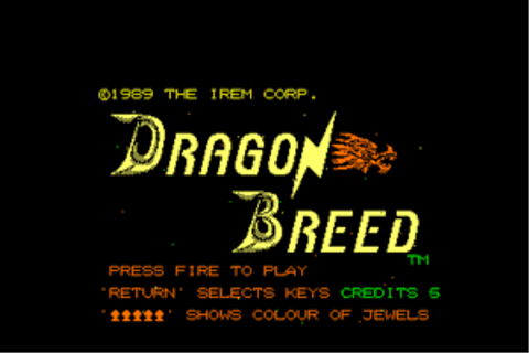 Download Dragon Breed (Amiga) - My Abandonware