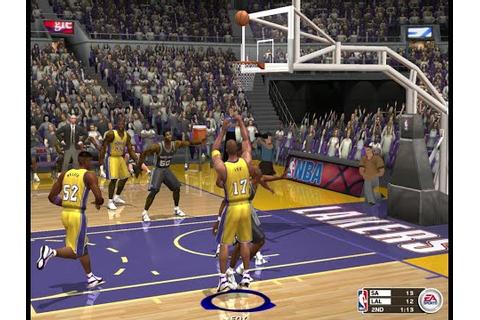 NBA Live 2003 PC Gameplay HD - YouTube