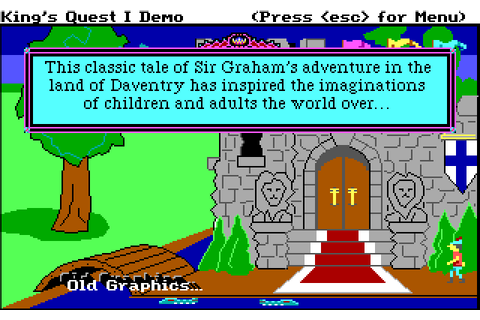 Play King's Quest I: Quest for the Crown online ...
