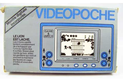 Nintendo Game & Watch (Videopoche) - Gold Series - Le Lion ...