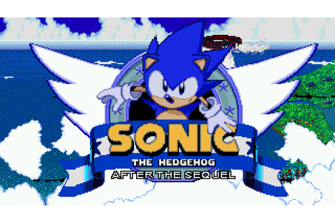 Sonic After the Sequel Free Download PC Game - isoroms.com