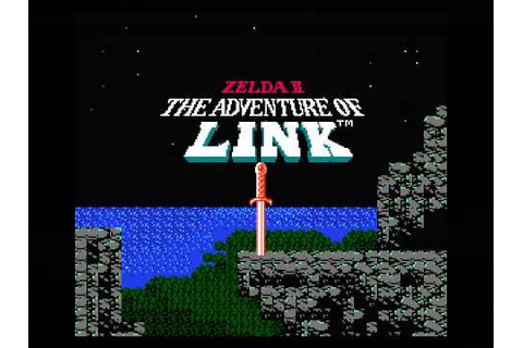 Zelda 2: The Adventure of Link (NES) Intro - YouTube