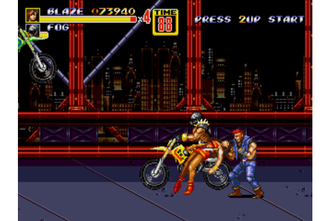 Streets of Rage 2 Screenshots for Windows - MobyGames