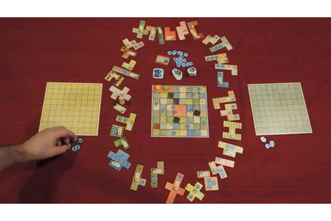 PATCHWORK Board Game Quick Walkthrough w/ Doron - YouTube
