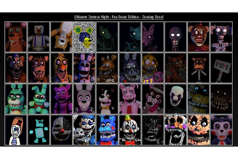 Ultimate Custom Night : Fan Game Edition by TheMPP ...