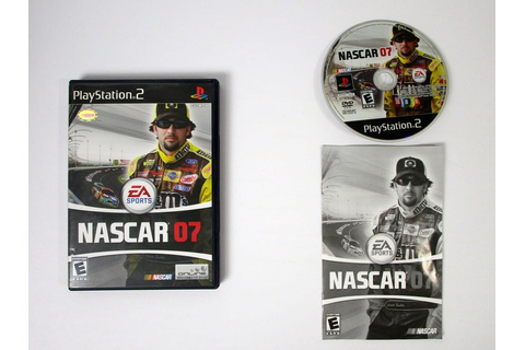 NASCAR 07 game for Playstation 2 (Complete) | The Game Guy