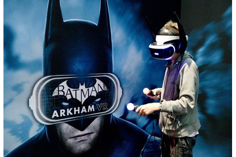 Batman Tames Vomiting in Warner Bros.' New Virtual-Reality ...