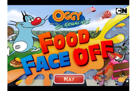 Cartoon Network Games | Oggy and The Cockroaches | Food ...