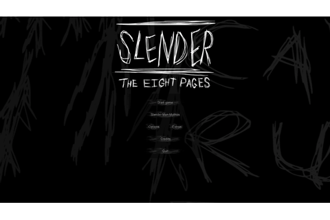 Download Game Horror Slenderman: The Eight Pages - Primonymous