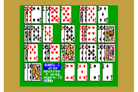 Solitaire Royale (1988, MSX2, Game Arts) | Releases ...