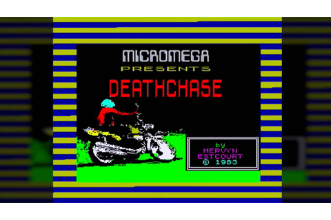 3D Deathchase (ZX Spectrum) - YouTube