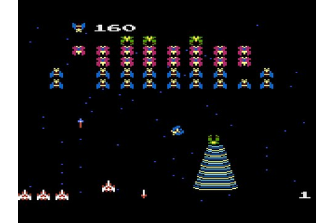 Galaga - Gameplay Arcade 1981 - YouTube