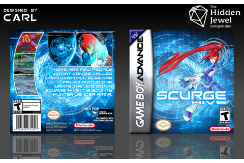Scurge: Hive Game Boy Advance Box Art Cover by Carlj1497