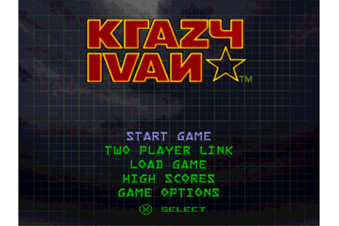 Krazy Ivan Screenshots for PlayStation - MobyGames