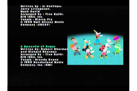 Game Credits Video - Dance Dance Revolution Disney Grooves ...