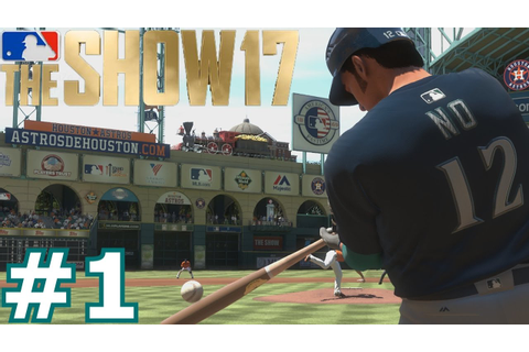 GREATEST FIRST GAME EVER | MLB The Show 17 | Road To The ...
