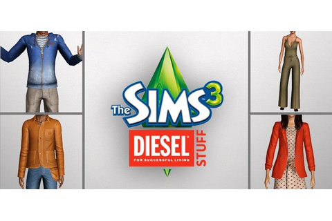 My Sims 3 Blog: The Sims 3 Diesel Stuff Pack Now Available