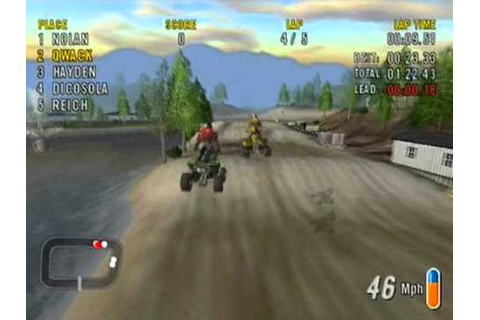 ATV Offroad fury 2 - Gameplay - YouTube
