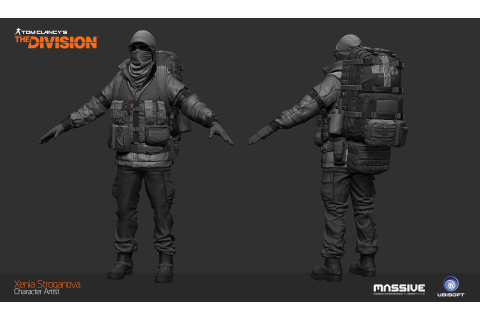 ArtStation - The Division - Last Man Battalion Medic ...