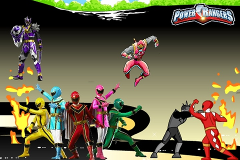 Power Rangers Director Game - Power Rangers games - Games Loon