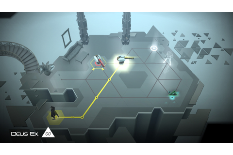 Deus Ex Go Screenshots, Pictures, Wallpapers - Android - IGN