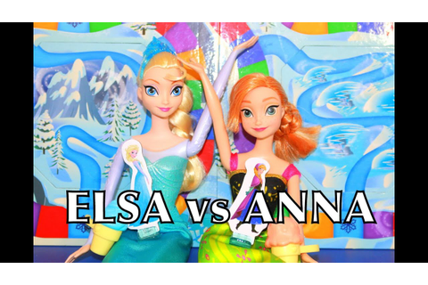 FROZEN Elsa vs Anna Suprise Slides Board GAME Disney ...