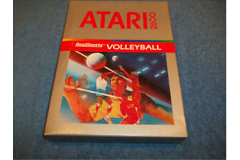 NEW ( NOS ) ATARI 2600 REALSPORTS VOLLEYBALL GAME IN ...