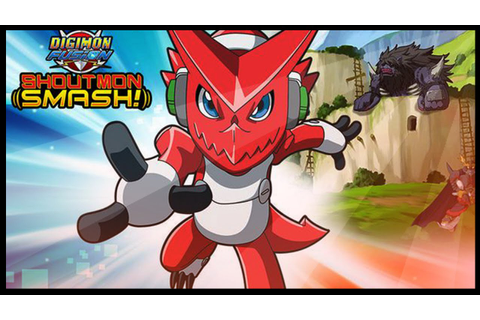 Digimon Fusion: Shoutmon Smash! - Digimon Game - YouTube