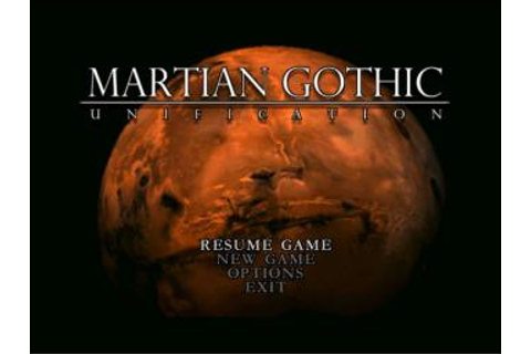 Screens: Martian Gothic Unification - PC (1 of 10)