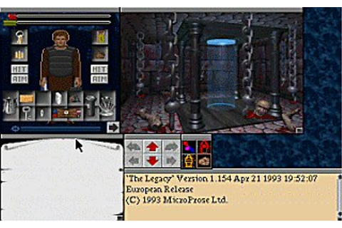 Download Legacy - Realm of Terror, The | Abandonia