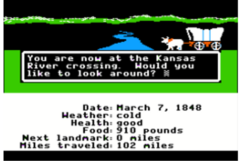 The Oregon Trail (1985 video game) - Wikipedia