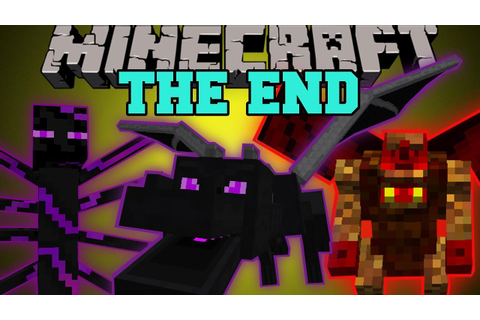 Minecraft: THE END MOD (HARDCORE BOSSES, DUNGEONS, & EPIC ...