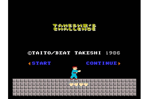 Takeshi's Challenge/Takeshi no Chousenjou: warp to the end ...
