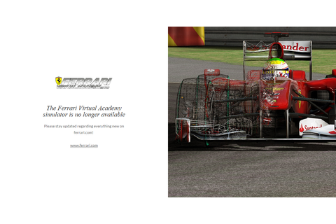 Always-online PC sim Ferrari Virtual Academy is shut down ...