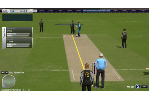 Ashes Cricket 2013 Pc Gameplay #Worst Game Ever - YouTube