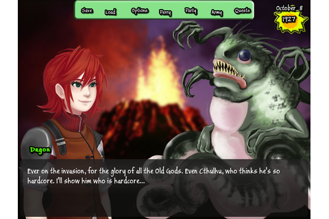 Army of Tentacles: (Not) A Cthulhu Dating Sim Review ...