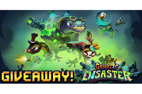 Genetic Disaster PC giveaway - Four Steam keys - TGG