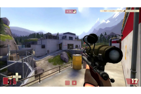 Team Fortress 2 - Sniper [GAMEPLAY] - YouTube
