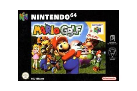 Mario Golf - Nintendo 64 game