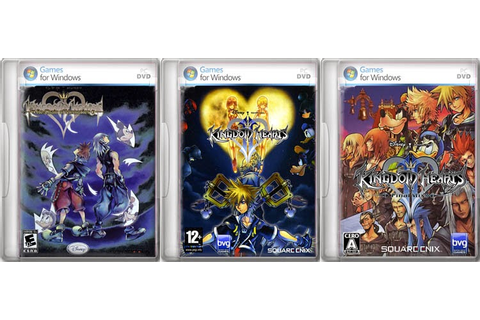 maxcum: Kingdom Hearts PC Game Complete Pack