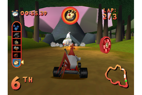 Looney Tunes Racing Screenshots for PlayStation - MobyGames