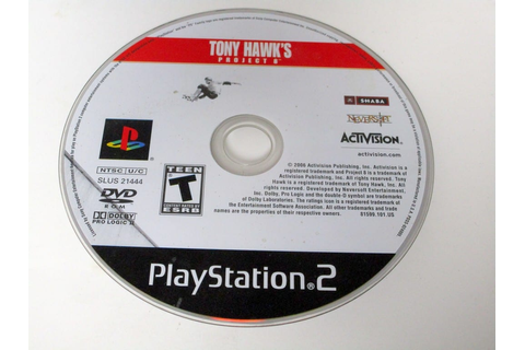 Tony Hawk Project 8 game for Playstation 2 (Loose) | The ...
