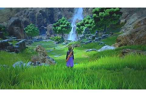 Dragon Quest XI - First PS4 Gameplay - YouTube