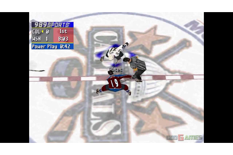 NHL FaceOff 2000 - Gameplay PSX (PS One) HD 720P ...