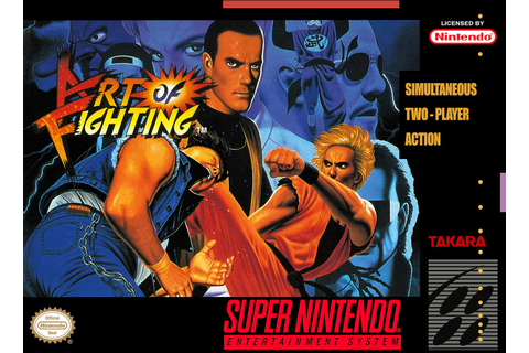 Nerdicus SNES Review # 17 : Art of Fighting ~ Life of a ...